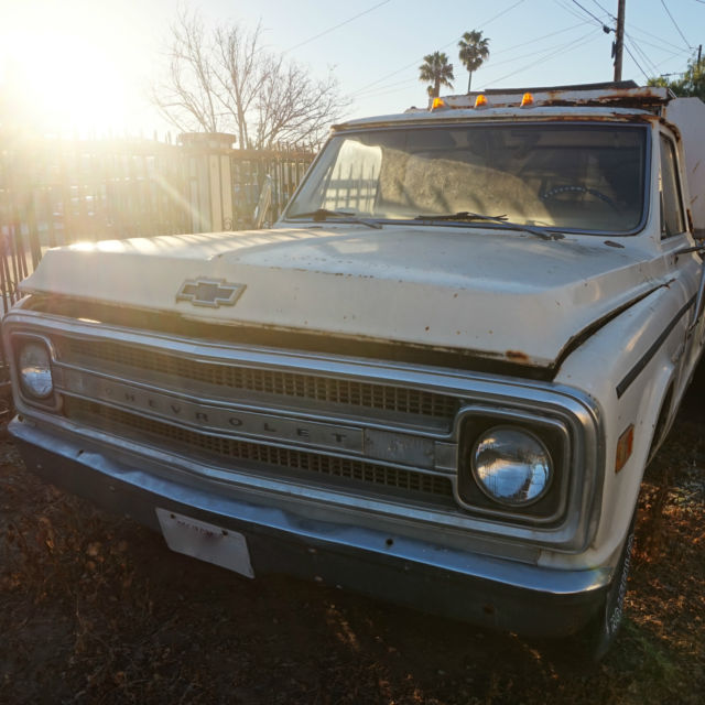 1969 chevrolet c/10 pickup long bed for parts as is bill of sale