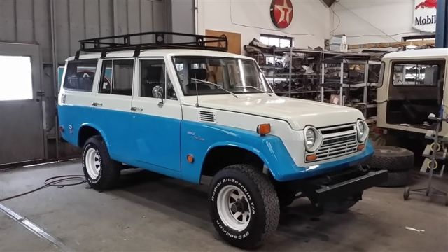 1969 toyota fj55 4 door land cruiser