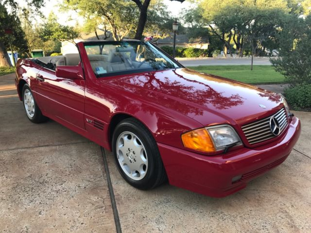 1994 Mercedes Benz SL600 V12 with just 41K miles for sale photos