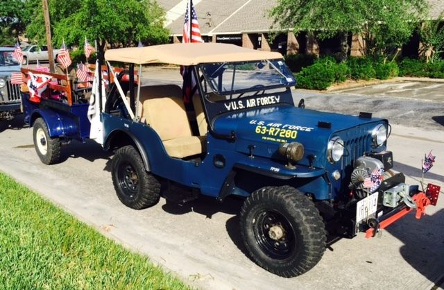 CJ3B M606 Willys Jeep for sale photos, technical specifications