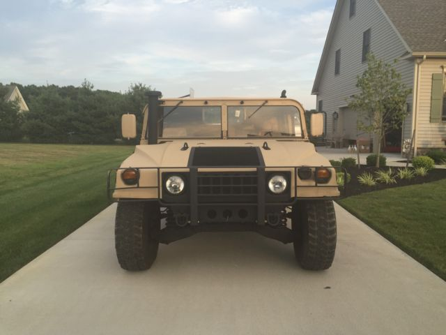 Hummer Am General M998 Humvee Hmmwv With Title Street