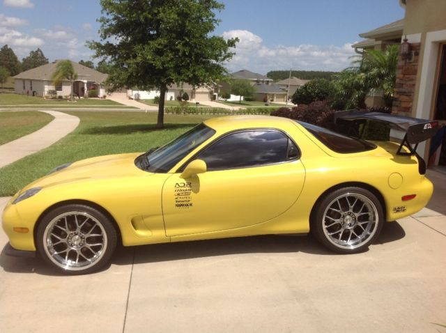 RARE 1 OF 350 1993 MAZDA RX-7 R1 CYM COMPETITION YELLOW MICA FD3S