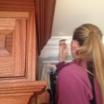Onsite with Waterborne Cabinet Finishes – Brushed