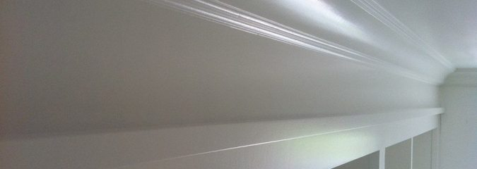 Reader Question: Priming Crown Molding