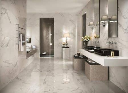 Carrelage salle de bain  les tendances les plus en vogue - Topdecopro