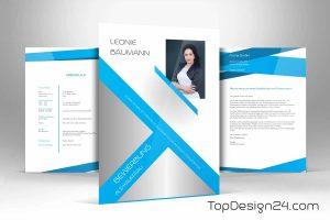 Bewerbung Design stilvoll