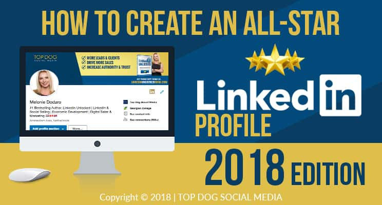 LinkedIn Profile How to Create an All-Star Profile INFOGRAPHIC