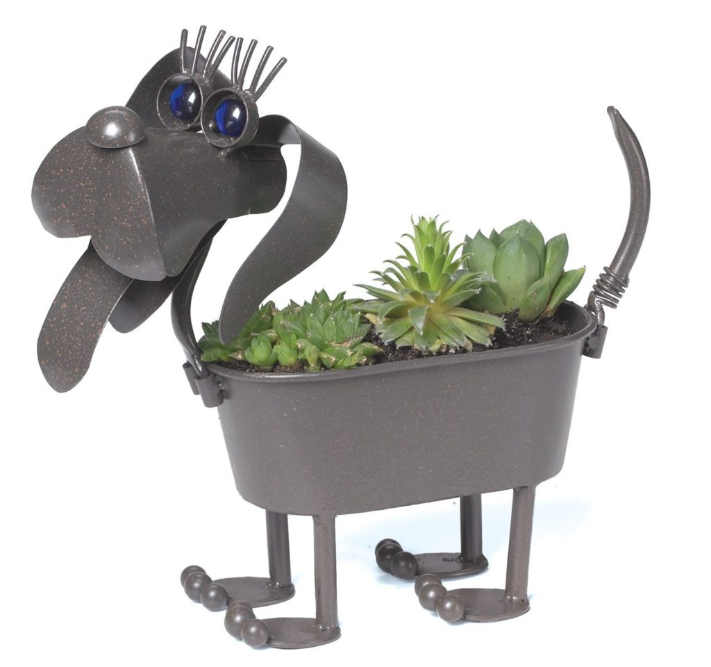 Metal Dog Planters 40 43 Most Unique Holiday Gift Ideas For Dog Owners And Dog