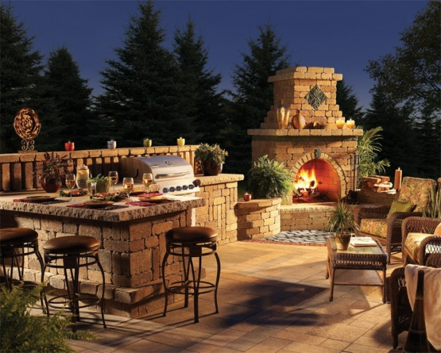 Küche Selber Bauen Pinterest 30 Ideas For Outdoor Fireplace And Grill