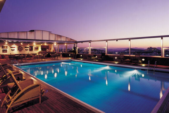 Divani Caravel Divani Caravel Allow Yourselves This Pleasure: Roof Pool Ideas
