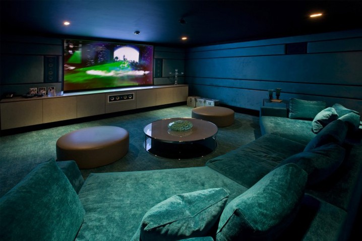 Dream Sofa Mind Blowing Home Theaters For Your Dream Homes