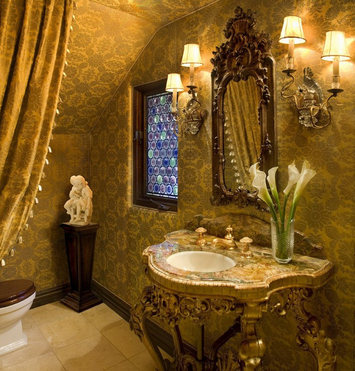 Granit Badezimmer 15 Luxury Powder Room Designs