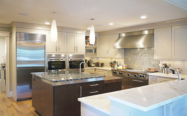 modern kitchens stainless steel backsplash designs kitchen backsplash contemporary kitchen metro