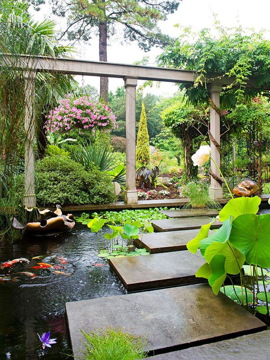 Pool Garten Pinterest 15 Wonderful Backyards With Koi Ponds You Need To See