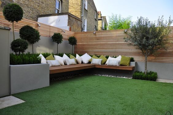 Houten Border Maken Corner Seating Areas Perfect For Small And Spacious Gardens