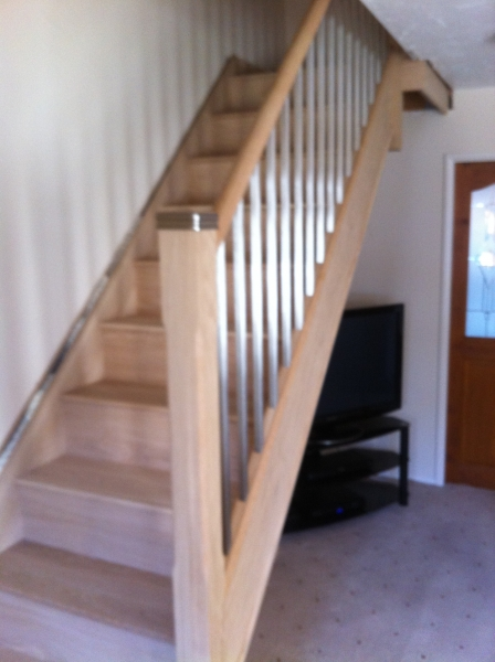 E Stairs Metal Balustrade Staircase Gallery - Topflite Stairs Ltd