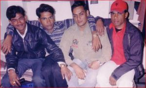 Havilas Meena with Friends