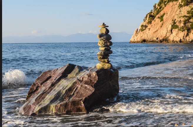 Stones in the Sea-Stone Tower