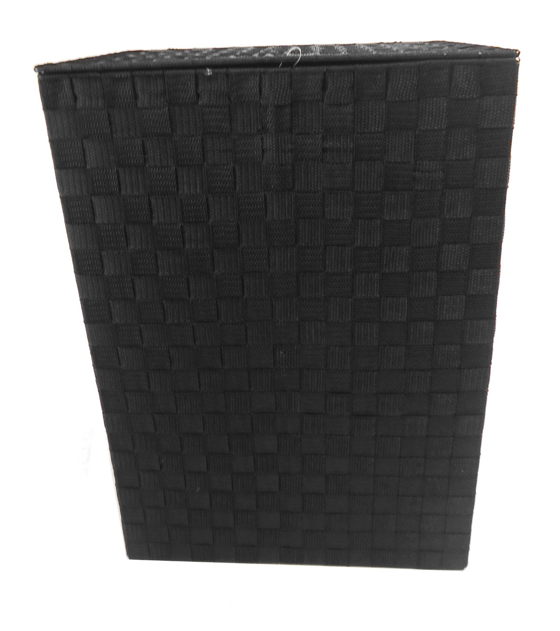Black Laundry Hamper With Lid Brown Or Black Tapered Rectangle Laundry Basket Metal