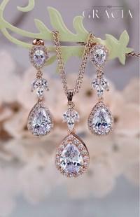 teardrop bridal jewelry - Jewelry Ufafokus.com