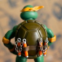 TMNT Classic Collection Michelangelo Action Figure