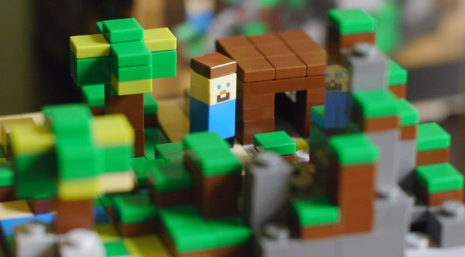 LEGO Minecraft Set