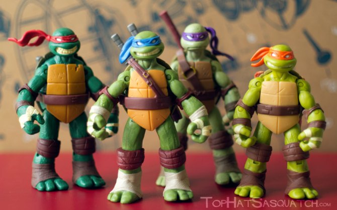 Nickelodeon TMNT Action Figures