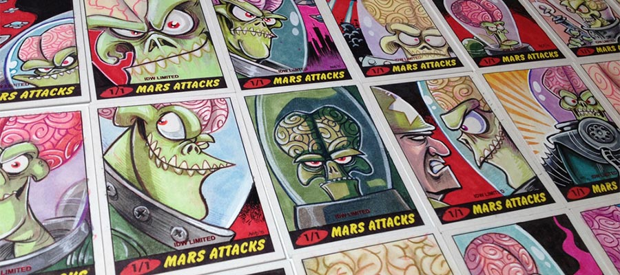 Alex Deligiannis' Mars Attacks
