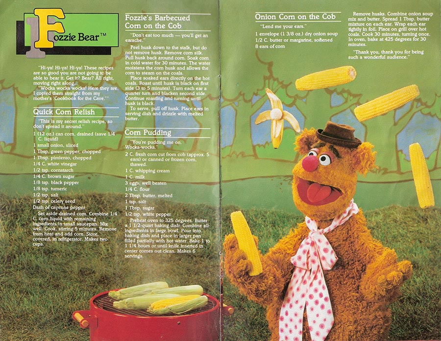 Muppet Picnic Cookbook Pages 5-6