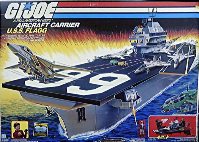 G.I. Joe U.S.S. Flagg