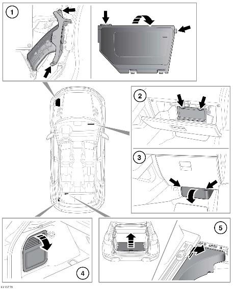 2014 range rover sport fuse box location