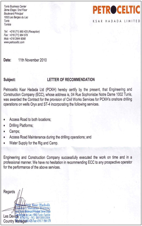 Construction Work Construction Work Experience Letter Format