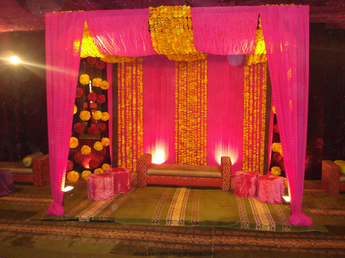 Stage Decoration Ideas Design Latest Pakistani Mehndi Stage Designs Mehndi Stage