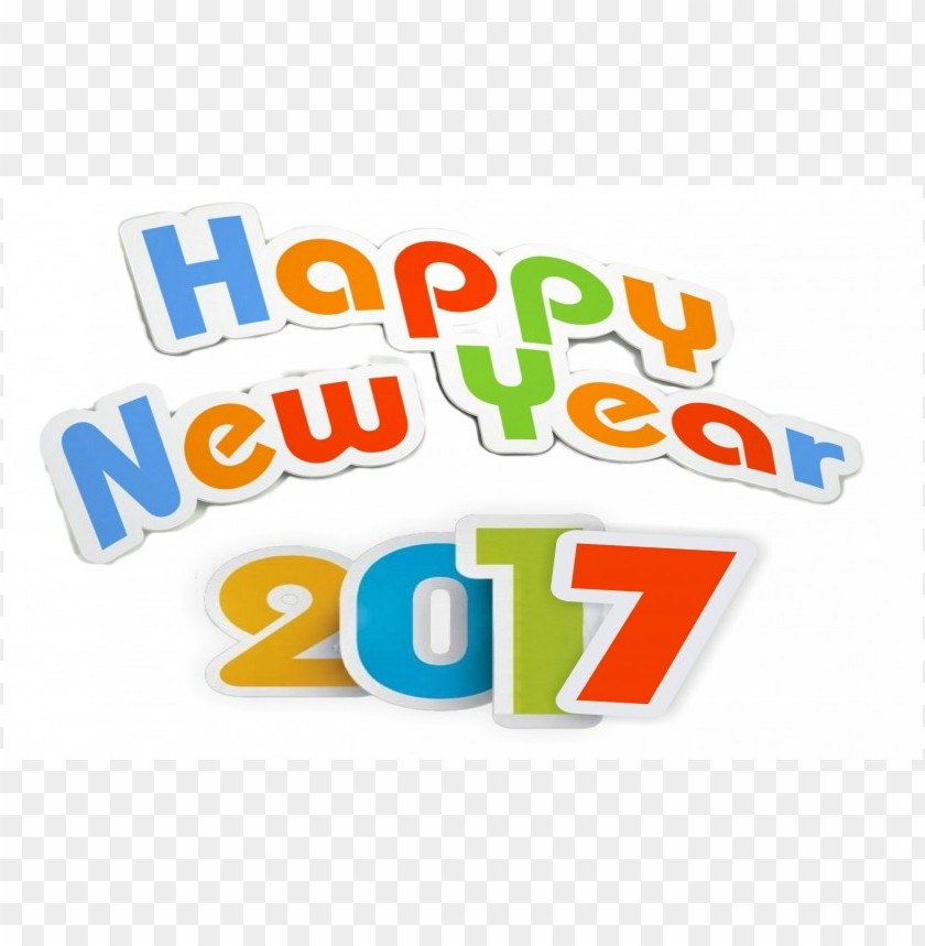 Download 2017 happy new year wa clipart png photo TOPpng