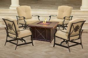 Top 5 best fire table patio set in 2019 review