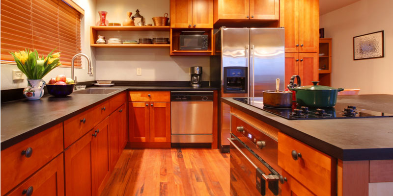 Kitchen Bamboo Cabinet Granite Countertop Blog - Kitchen Cabinets And Granite Countertops, Pompano