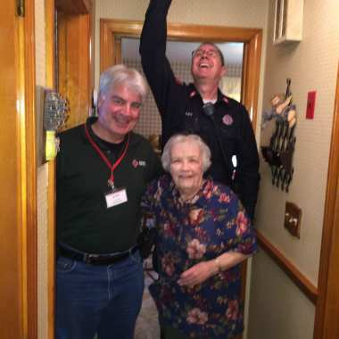 Topsfield Firefighters Complete Senior Fire Safety Project, Install 31 new Smoke Detectors