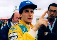 Ayrton Senna mit Vater Milton da Silva © Rudolf Beranek