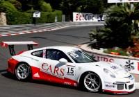 Ben Barker in den Straßen von Monaco - © Porsche/Lechner Racing