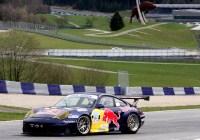 Stephan Jocher im Red Bull Porsche 996 GT3 RS © Rudolf Beranek