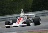 Franz Guggemos mit dem Hill Formel 1 © Histo Cup
