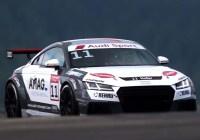 Max Hofer auf dem Nürburgring © Audi Sport