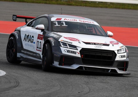 Max Hofer beim Finale in Hockenheim © Audi Motorsport