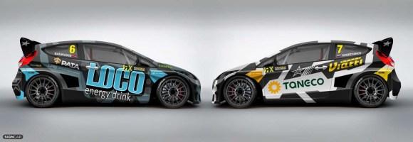 Rallycross Ford Fiesta RXS © STARD