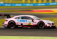 "Lucas Auer im ""Pink Panther BWT"" Mercedes © DTM"