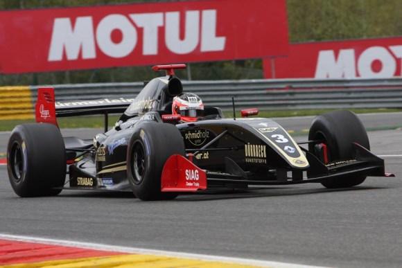 Rene Binder im Lotus 3,5 V8 © Rudolf Beranek