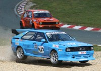 Flying Audi Quattro © Histo Cup