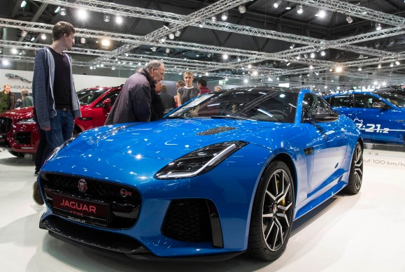 Jaguar F-Type - © Reed Exhibitions Wien/Andreas Kolarik