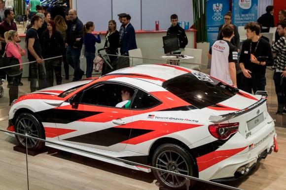 Toyota GT86 Simulator © Reed Exhibitions Wien/Andreas Kolarik