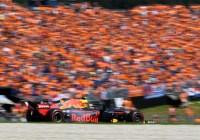 Max Verstappen fährt zum Sieg vor seinen Fans © Red Bull Content Pool